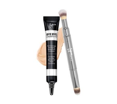 It Cosmetics Bye Bye Under Eye Concealer Brush Page 1 Qvc Uk