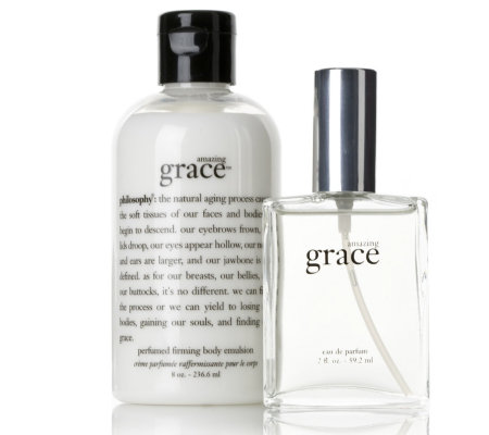 Philosophy Amazing Grace Fragrance & Body Emulsion Duo - QVC UK
