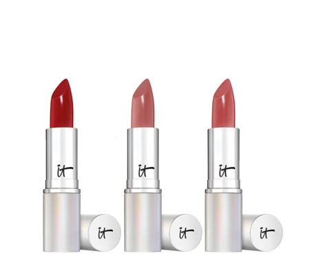 IT Cosmetics Blurred Lines Smooth-Fill Anti-Ageing Lipstick Trio