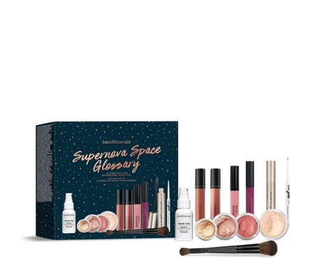 Bareminerals 12 Piece Supernova Space Glossary Make-up Collection
