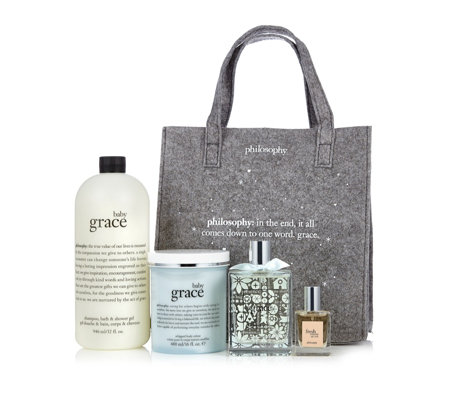 Philosophy 4 Piece Grace Fragrance Layering Collection