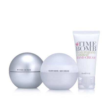Lulu's Time Bomb 3 Piece Face, Neck & Hand Collection