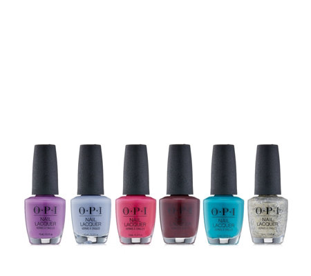 OPI 6 Piece New Year Colour Collection