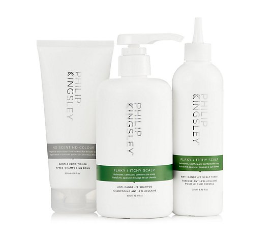 Philip Kingsley 3 Piece Flaky Itchy Scalp Hydrating Collection