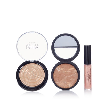 Laura Geller 3 Piece Glow Your Own Way Make-Up Collection