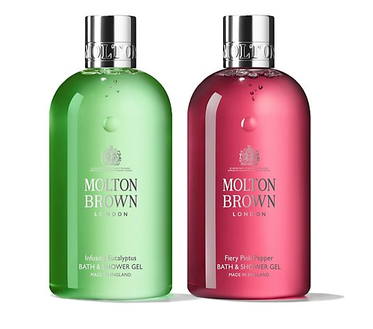 Molton Brown Revive & Uplift 300ml Bathing Duo