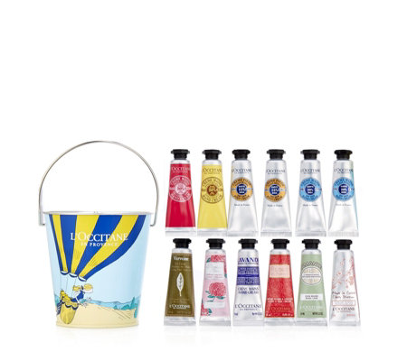 L'Occitane 12 Piece Handcream In A Bucket Collection