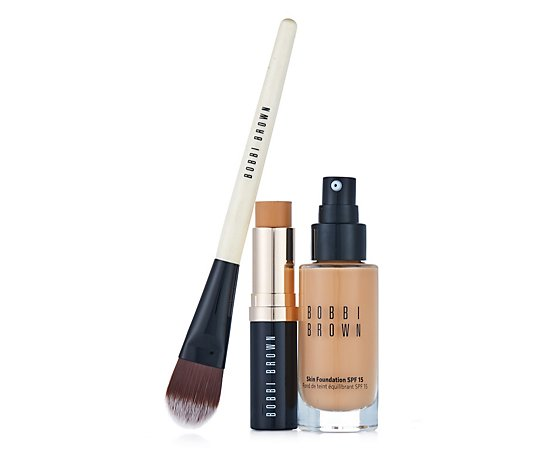 Bobbi Brown Skin Foundation Duo & Brush