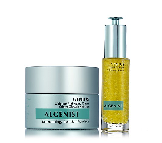 Algenist Genius Liquid Collagen 30ml & Anti-Ageing Cream 30ml