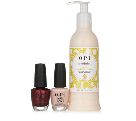 OPI 3 Piece Hand Treat Collection