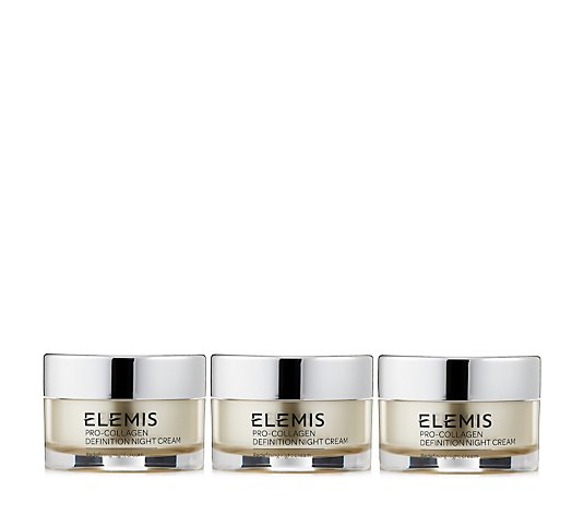 Elemis Pro-Collagen Definition Night Cream 30ml Trio