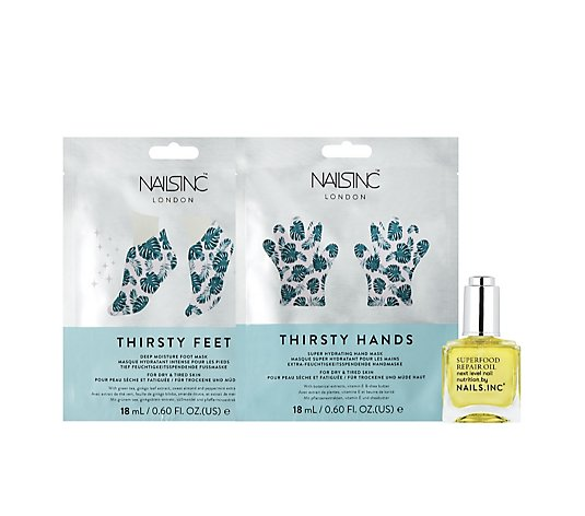 Nails Inc 3 Piece Hands To Toe  Treatment Collection