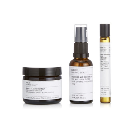 Evolve Beauty Complete Hydration 3 Piece Collection