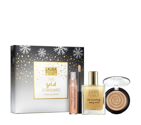 Laura Geller 3 Piece The Gold Standard Make-up Collection