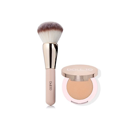 Doll 10 Refocus Illuminating Powder & Brush