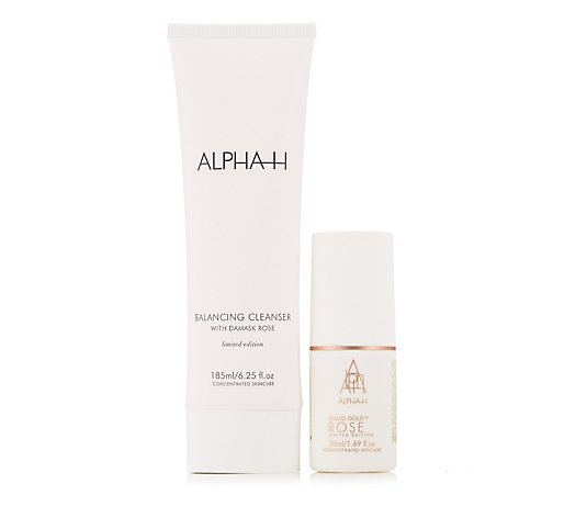 Alpha-H Rose Cleanse & Renew Duo