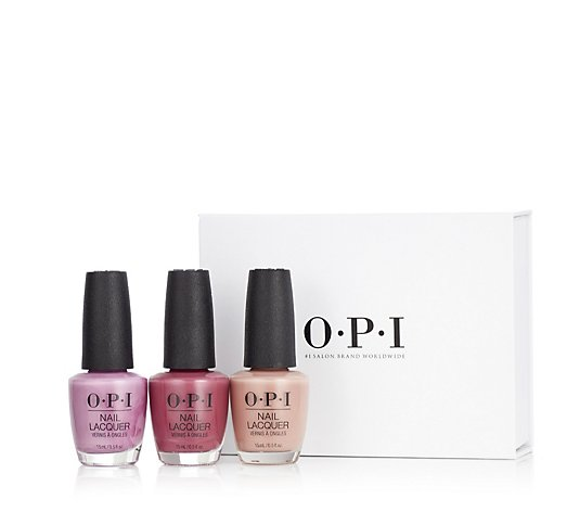OPI 3 Piece Classics Collection With Gift Box