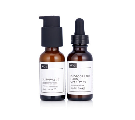 NIOD Survival 30 & Photography Fluid 30ml Duo