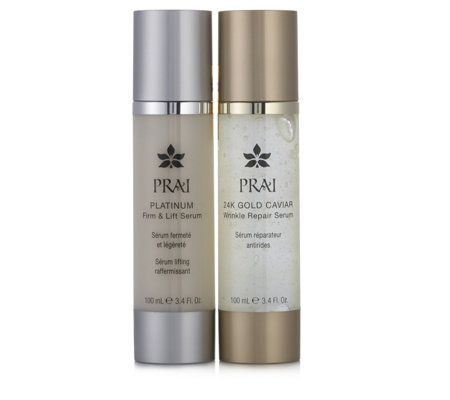 Prai 2 Piece Anti Ageing Firming & Wrinkle Repair Collection