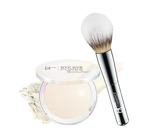 IT Cosmetics Bye Bye Pores Illumination & Wand Ball Brush
