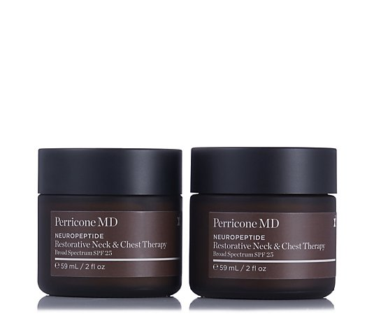Perricone Neuropeptide Neck & Chest Therapy SPF 25 59ml Duo