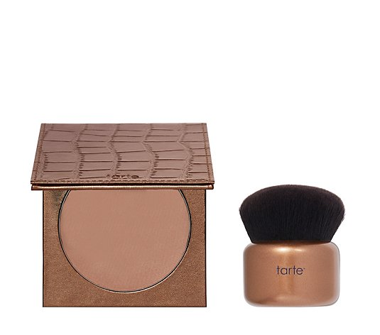 Tarte Park Ave Princess Waterproof Face & Body Bronzer with Brush