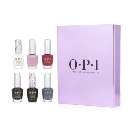 OPI 6 Piece Classics Infinite Shine Collection