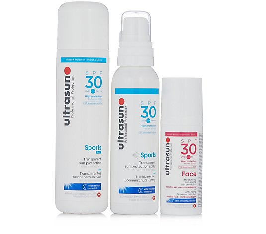 Ultrasun Sun Protection 3 Piece Essential SPF 30 Collection