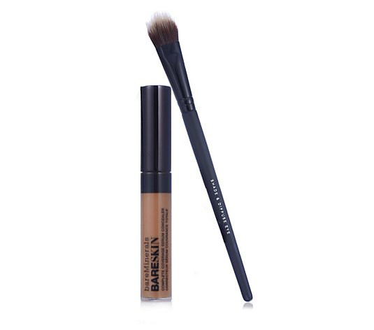 Bareminerals Bareskin Complete Coverage Serum Concealer 6ml & Brush
