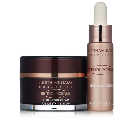 Judith Williams Retinol Science 2 Piece Nightime Boost Collection