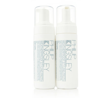Philip Kingsley Weatherproof Styling Froth Duo 150ml