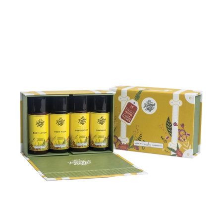 The Handmade Soap Company 4 Piece Travel Set