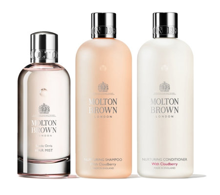 Molton Brown Nurturing Suede Orris Hair Care Trio