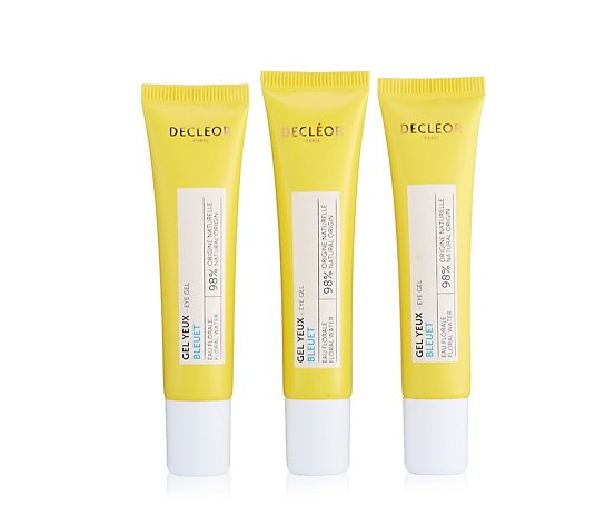 Decleor Neroli Cornflower Eye Gel Trio 15ml
