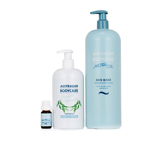 Australian Bodycare 3 Piece Skinwash & Tea Tree Oil Collection