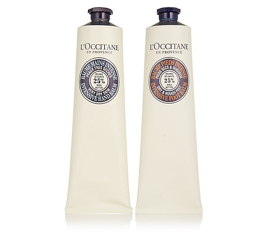 L'Occitane Hand and Foot Shea Intense Balm Duo