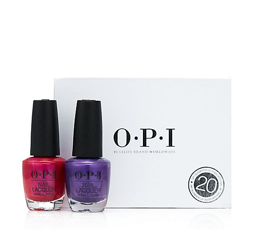OPI Pompeii Purple & Purple with A Purpose Duo With Gift Box