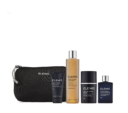 Elemis Men's 4 Piece Grooming Heroes Gift Collection
