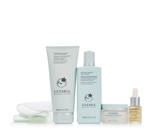 Liz Earle Botanically Powered 4 Piece Skincare Collection