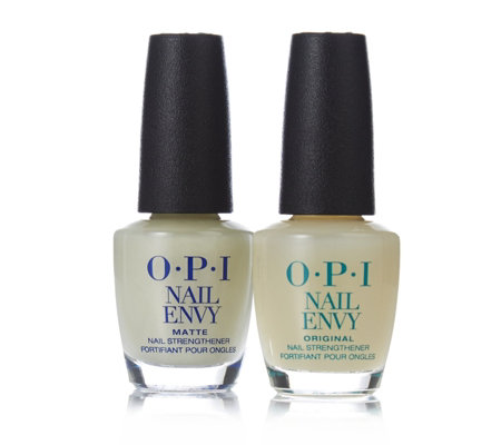 OPI 2 Piece Original & Matte Nail Envy Collection - Page 1 - QVC UK