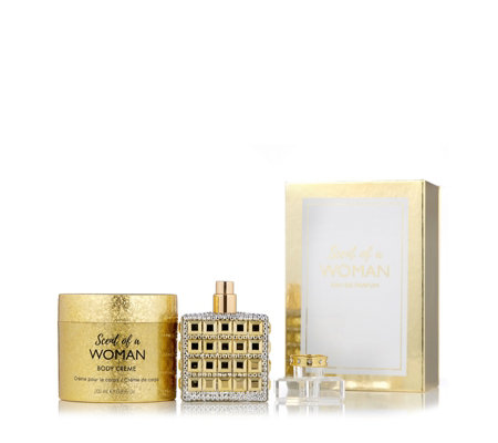 Prai Scent Of A Woman Fragrance & Body Gift Set