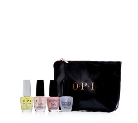 OPI 4 Piece Nail Treatment Wardrobe