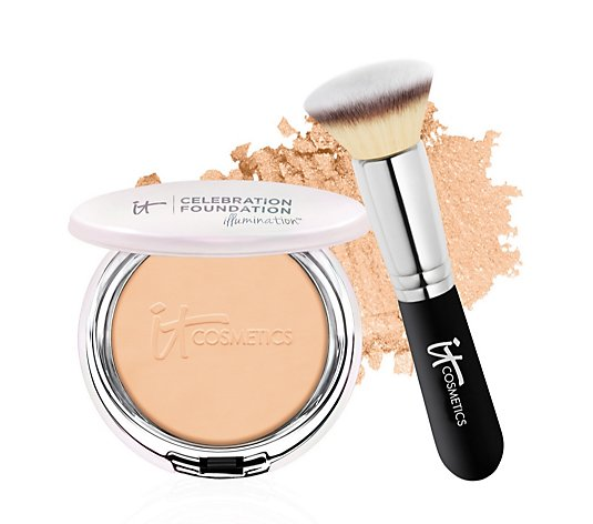 IT Cosmetics Celebration Foundation Illumination & Brush