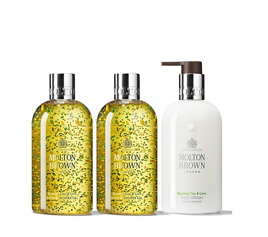Molton Brown Caju & Lime 3 Piece Layering Collection 300ml