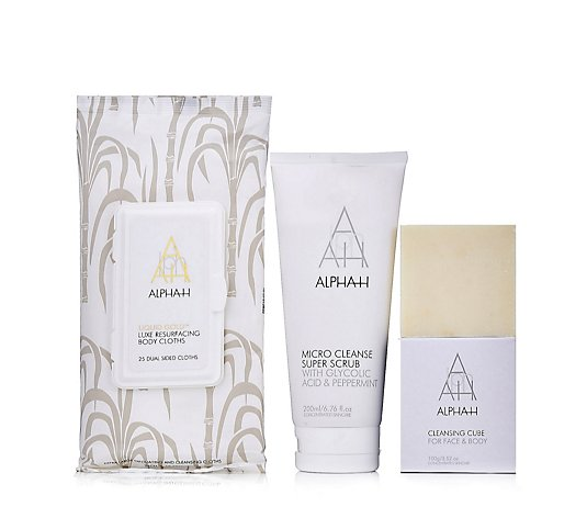 Alpha-H Head To Toe Exfoliation Kit