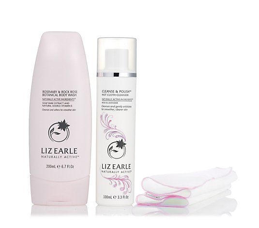 Liz Earle Love Your Skin Face & Body Cleansing Duo