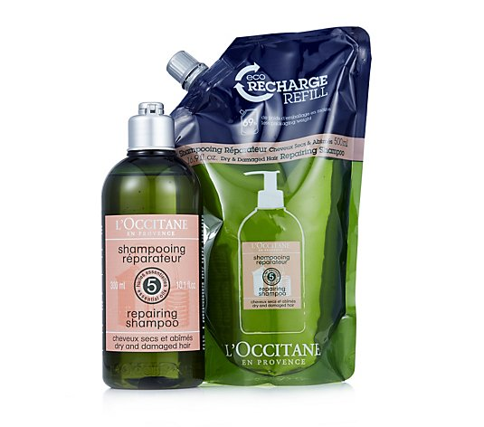 L'Occitane Repairing Hair and Eco Refill