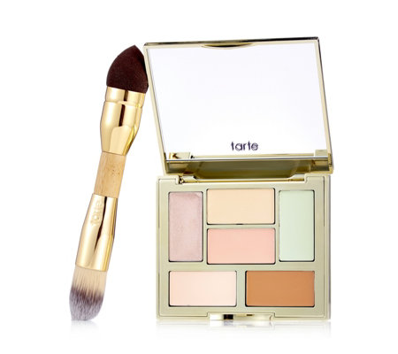 Tarte Double Duty Beauty Colour your World Colour Correcting Palette & Brush