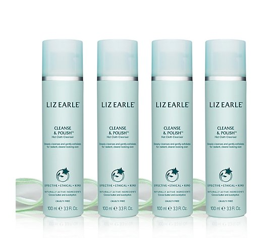 Liz Earle Cleanse & Polish Lovers Collection Set of 4 100ml