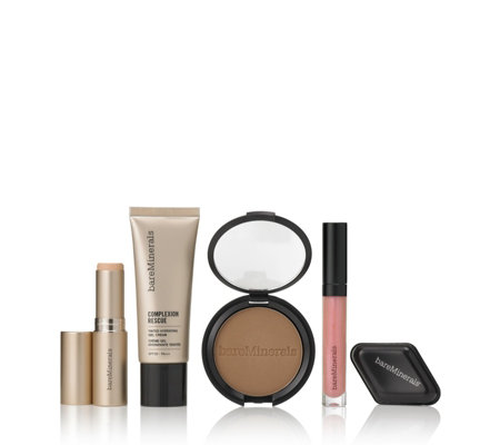 Bareminerals 5 Piece Complexion Rescue Hydrate & Glow Make-up Collection